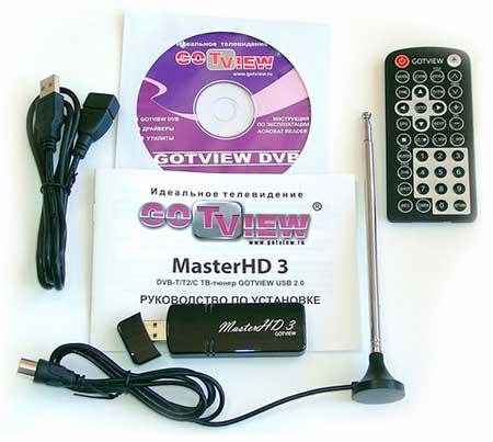 Драйвер и программа для тюнера DVB-T2