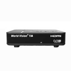 Приставка DVB T2 World Vision T34