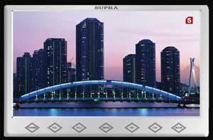 Картинка на ТВ Supra с антенны Корона