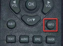 Кнопка info фото