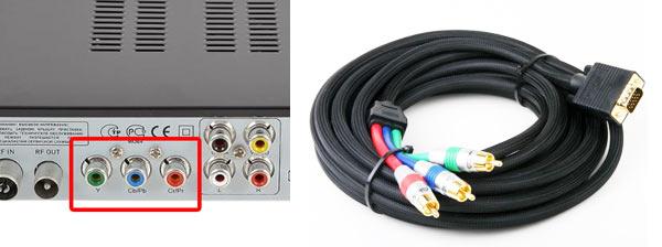 фото кабеля YPbPr-VGA