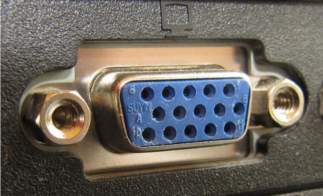 Разъем аналоговый VGA