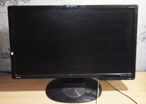 Старый монитор без HDMI