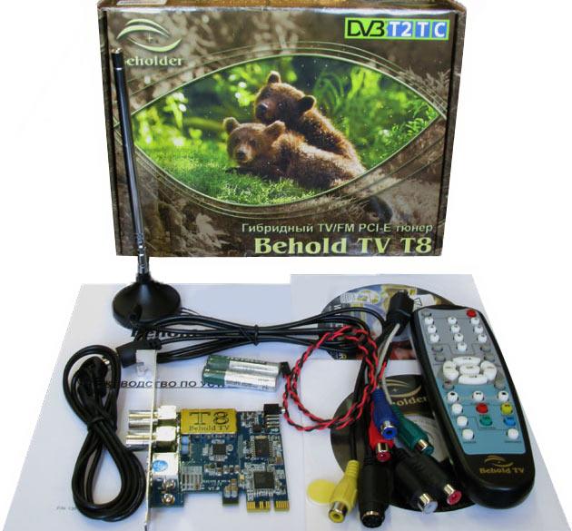 Внутренний тюнер Behold TV T8