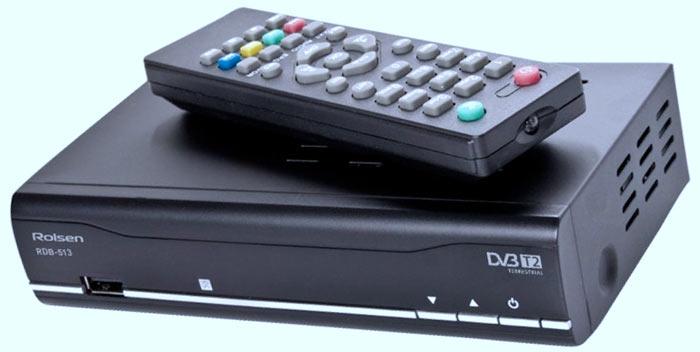 Приставка стандарта DVB-T2